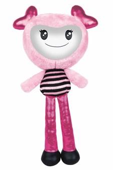 Brightlings interaktiivinen nukke, vaaleanpunainen