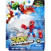 Super Hero Mashers, Mikrofigur, Spiderman, Marvel