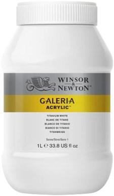 Galeria Akrylfärg 1 liter 644 Titanium white
