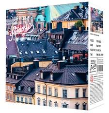 Pussel 1000 bitar, Rooftops, Kylskåpspoesi