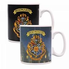 Harry Potter Hogwarts Värmekänslig Mugg