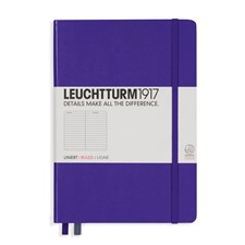 LT NOTEBOOK A5 Hard purple 249 p. ruled