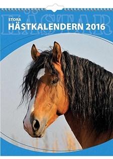 Väggkalender 2016 295x390 mm Stora Hästkalendern