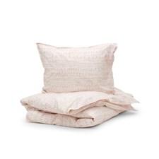 Sköna Hem Brush Bristle Påslakanset Tvättad bomullspercale 150x200 cm Pink