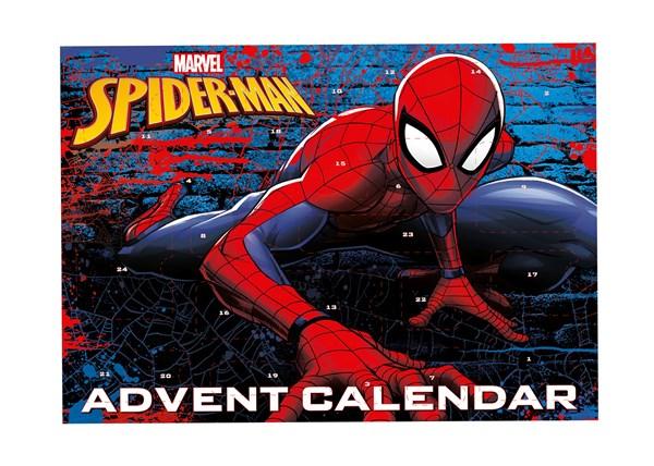 Adventtikalenteri 2017, Tarvikkeita ja hahmoja, Spiderman