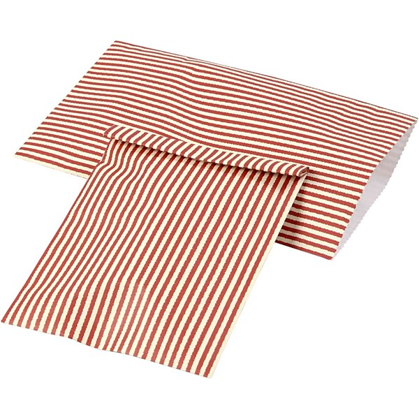 Paperipussi, kork. 21 cm, lev. 11,5 cm, 12kpl, g 80 g