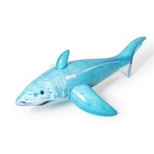 Bestway Baddjur Haj 183 x 102 cm Blå