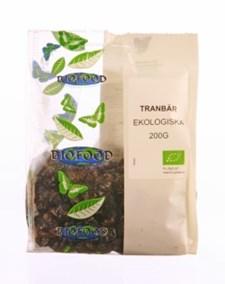 Biofood Tranbär Torkade 200 g Ekologisk