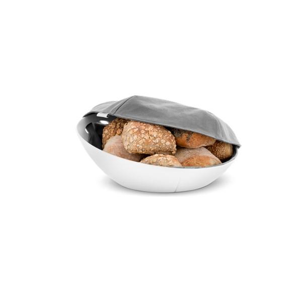 rosandahl Grand Cru Brödkorg Inkl Duk Vit - köksförvaring