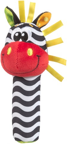 Jungle Squeker Zebra Parent, Playgro
