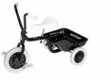 Klassisk trehjuling, Svart, Winther