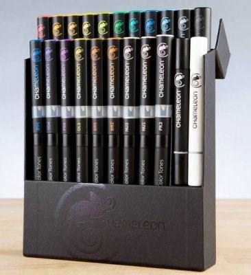 Chameleon 22-pack Pen Marker Deluxe-sett