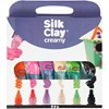 Silk Clay® Creamy , värilajitelma, 6x35 ml/ 1 set