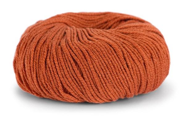 Knit At Home Classic Cotton Merino Villa Mix 50 g poltettu oranssi 819