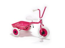 Klassisk trehjulssykkel, Rosa, Winther