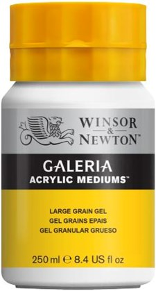 Winsor & Newton Medier Galeria Large Grain Gel 250 ml