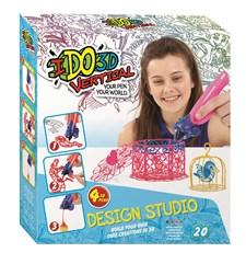 Design Studio, Cute Creations, Fire 3D-penner, IDO3D Vertical