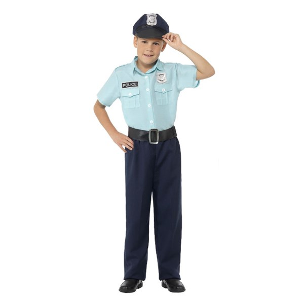 Polis Maskeraddräkt Barn 18765fb1b4da7