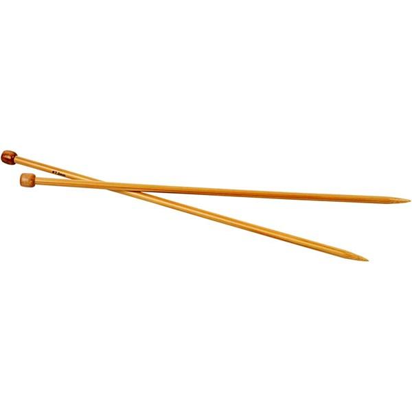 Strikkepinne, nr. 7 , L: 35 cm, 1par