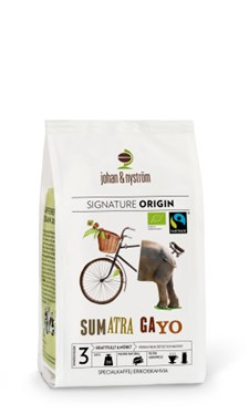 Johan & Nyström Kaffe Sumatra Gayo FTO Hela Bönor 250 g