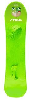Snowboard med bindinger, Lime, Stiga