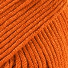 Muskat Bomullsgarn 50 g Mörk Orange (49) Drops