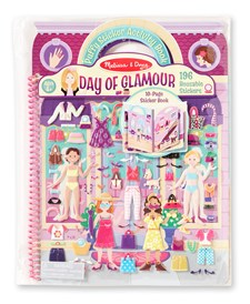 Day Of Glamour- Deluxe Puffy Stickers, Melissa & Doug