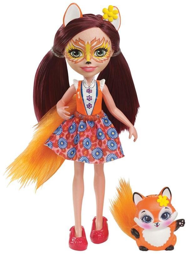 Docka Felicity Fox, 15 cm, Enchantimals