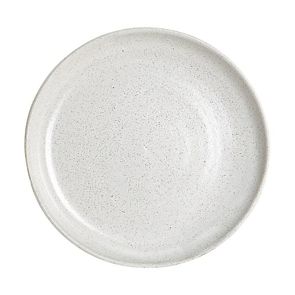 House Doctor By Hand Tallrik D 22.5 cm Lergods (hvit) - tallrikar & skålar