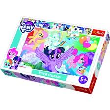 Puslespill, My Little Pony, Rainbow Landscape, 100 brikker, Trefl