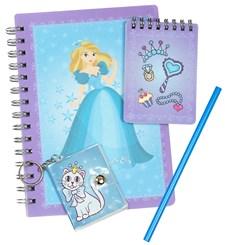 Skrivset Barn Sense A5 Prinsessor