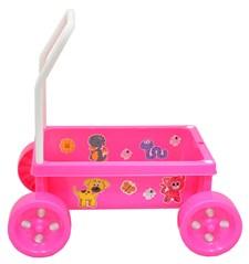 Lær-å-gå-vogn, Rosa, Plasto