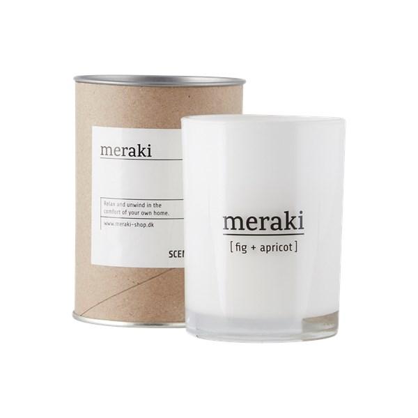 Meraki Doftljus Fig & Apricot H  10.5 cm - ljus