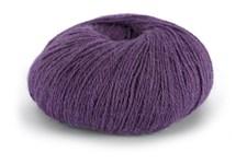 Knit At Home Superfine Alpacka Merino Garn Ullmix 50 g Blålila 129