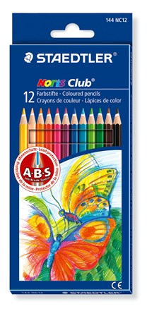 Färgpennor Staedtler Noris Club 12-pack