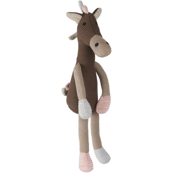Ib Laursen Virkat Gosedjur Giraff 100% Bomull H  55 cm B  13 cm Brun  IB Laursen