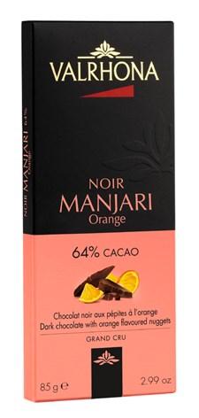 Valrhona Choklad Manjari Orange 64% 85 g