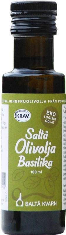 Saltå Kvarn Olivolja Basilika 100 ml