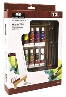 Akvarellfärg och Staffli Set Royal & Langnickel