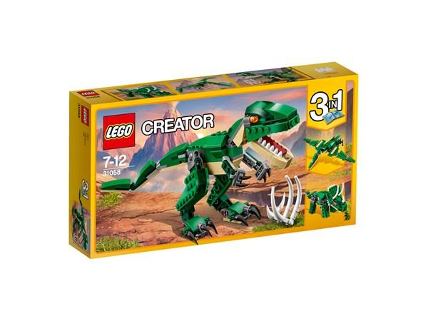 Mäktiga dinosaurier, LEGO Creator (31058)