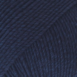Drops Cotton Merino Uni Colour Lanka Villasekoitus 50g Navy 08