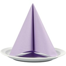 Servietter, lys lilla, str. 40x40 cm,  60 g, 20stk.