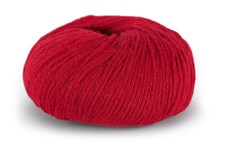 Du store Alpakka Sterk Ullmix 50 g Rød 828