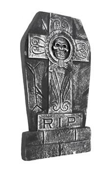 Gravsten Dödskalle RIP