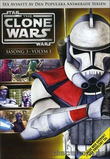 Star Wars - The Clone Wars - Säsong 3 vol 1