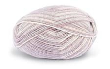 Dale Garn Alpakka 50 g Print Rose/Gray/Offwhite 9955