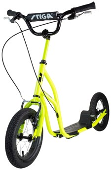 "Stiga Sparkesykkel Air Scooter 12"", Lime"