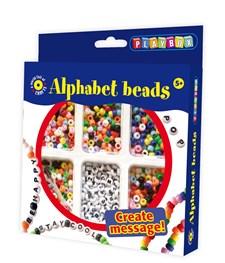 Plastpärlor Bokstäver Playbox