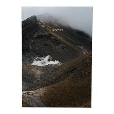 Notatbok , 18 x 26 cm , Mountain Fog