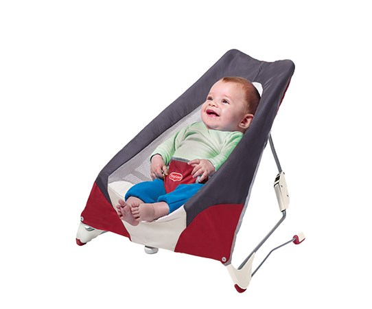 Babysitter Take-a-long Bouncer, Red, Tiny Love